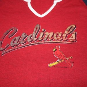Tops - Women's MLB Cardinals Tee Size Large
